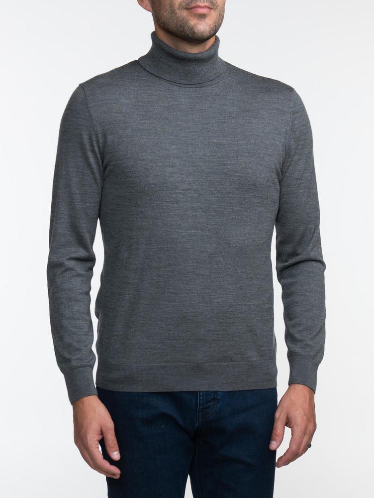 Turtlenecks Grey Turtleneck - L