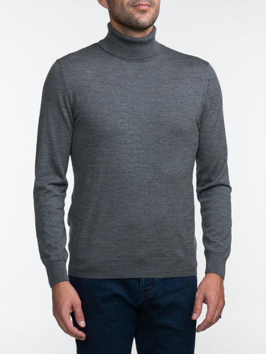 Turtlenecks Grey Turtleneck - L