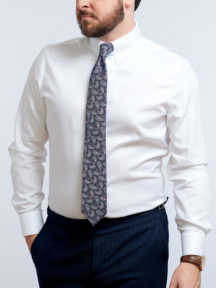 Chemise habillée Chemise blanche avec attache de col