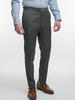 Trousers Charcoal Plain Wool Trousers