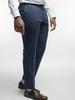 Trousers Navy Chalkstripe Wool Trousers