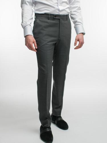 Pantalon Pantalon gris en laine