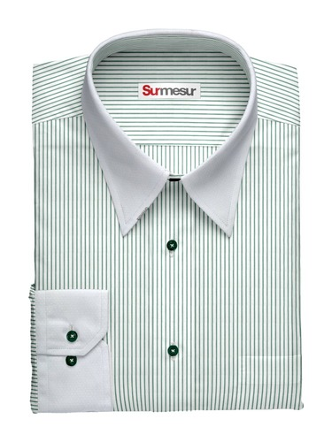 Dress shirt Banker Green