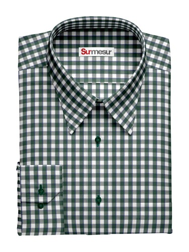 Dress shirt Green Gingham