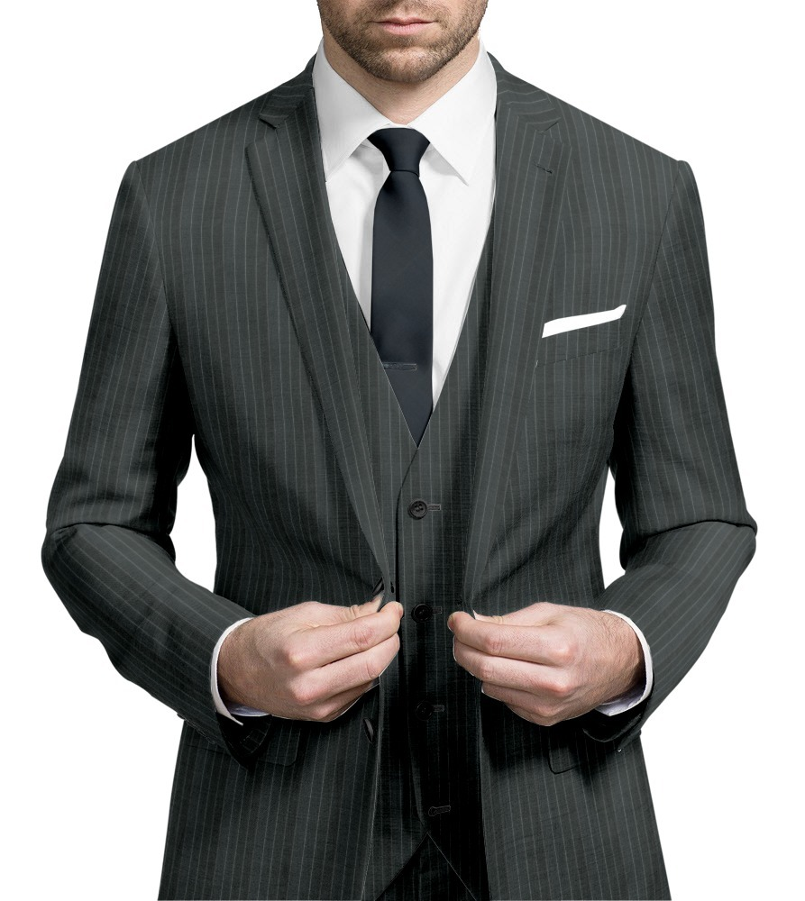 Three-piece suit 007
