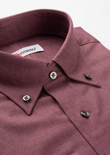 Sport shirt Dusty Red Bamboo Sport Shirt