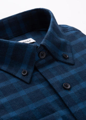 Sport shirt Blue Plaid Sport Shirt