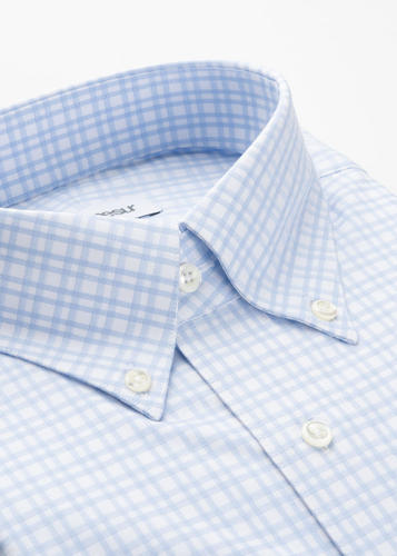 Dress shirt Classic Blue Check Shirt