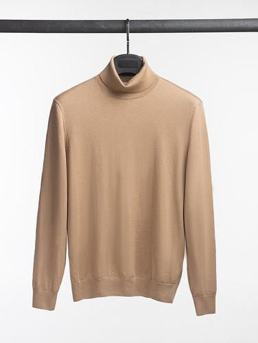 Turtlenecks Camel Turtleneck - XL