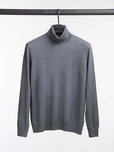 Turtlenecks Grey Turtleneck - XL