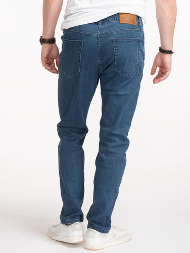 Jeans Custom Fit Blue Jeans