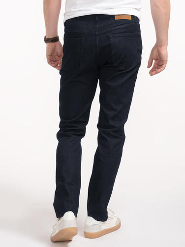 Jeans Custom Fit Navy Blue Jeans