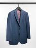 Complet Complet bleu look denim en laine