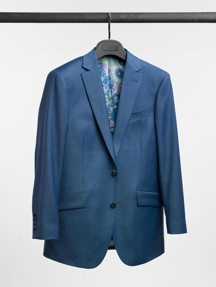 Complet Complet bleu cristal en laine
