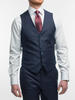 3-piece suit Navy Shadow Pinstripe Wool 3-Piece Suit