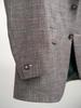 Jacket Taupe Wool-Linen-Silk Blend Sports Jacket