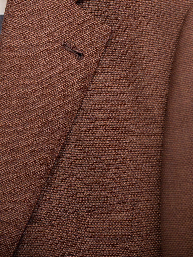 Jacket Copper Brown Mesh Sports Jacket