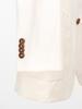 SUIT Cream Cotton Linen Blend Suit
