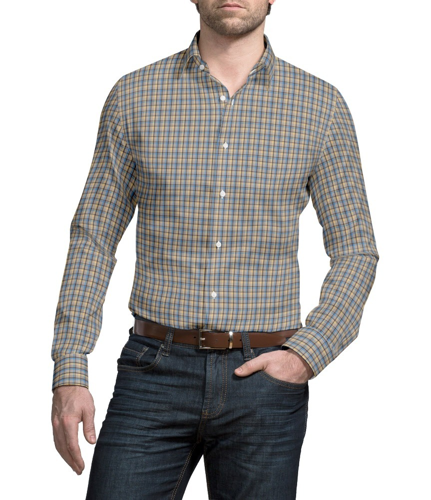 Dress shirt Casual Checks