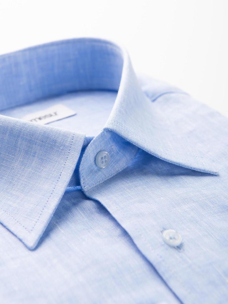 SPORT SHIRT Sky Blue Linen Shirt