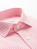CHEMISE SPORT Chemise en coton à rayures blanches et rouges