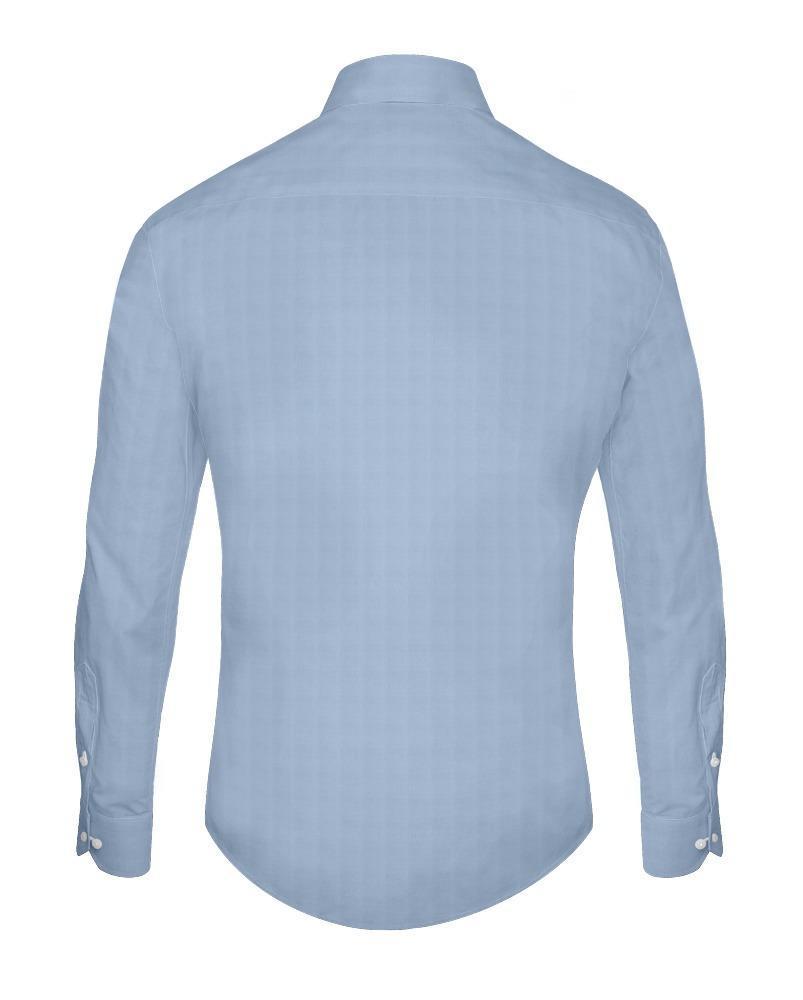 Chemise habillée Sergé bleu - Gisèle