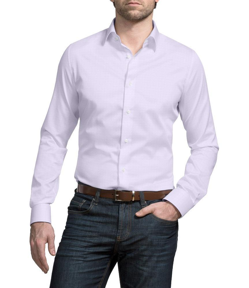 Dress shirt Lilac Liberty with Contrast