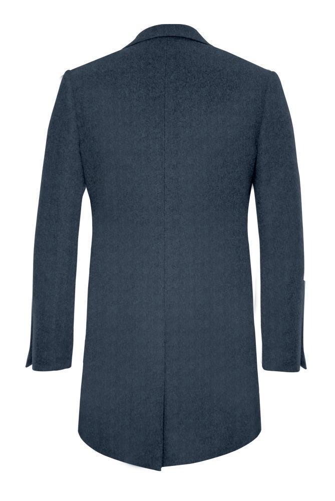 Manteau Bleu acier