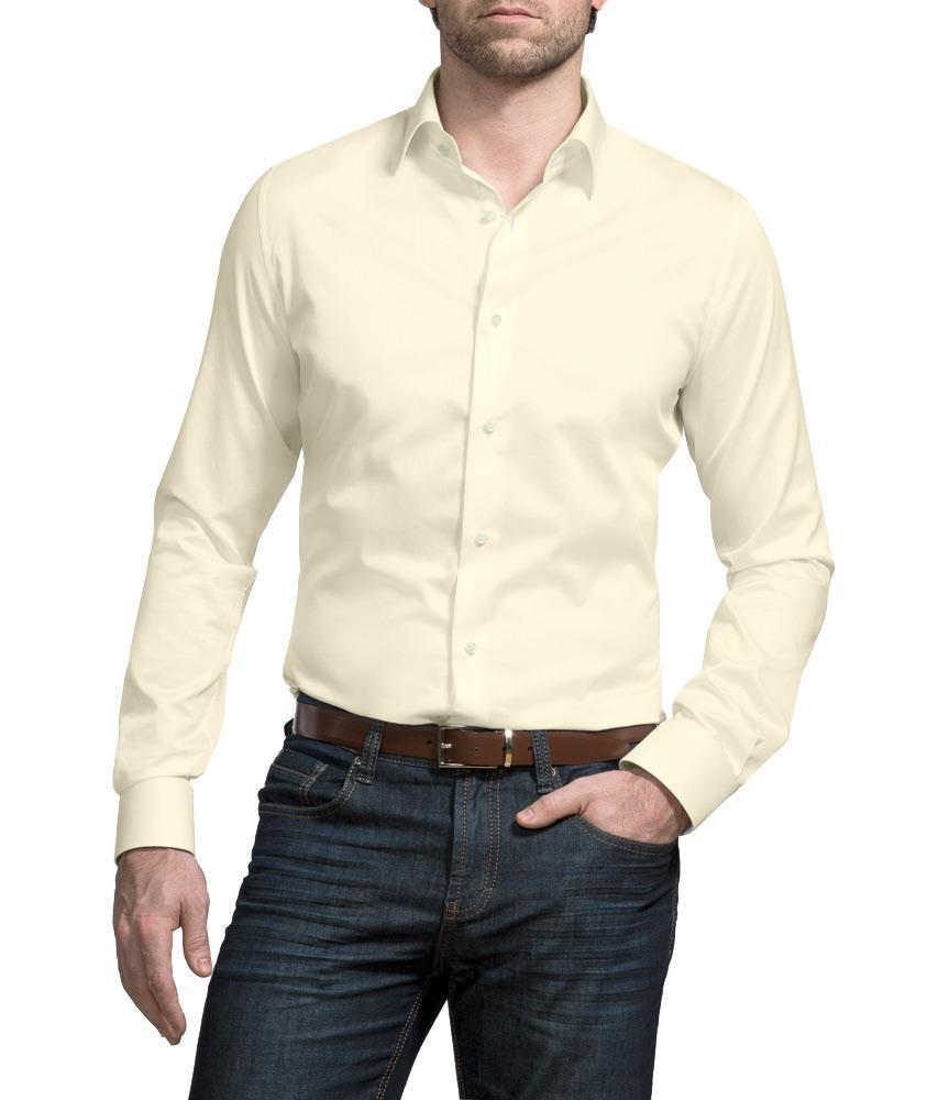 Chemise habillée Blanc Cassé - Florence