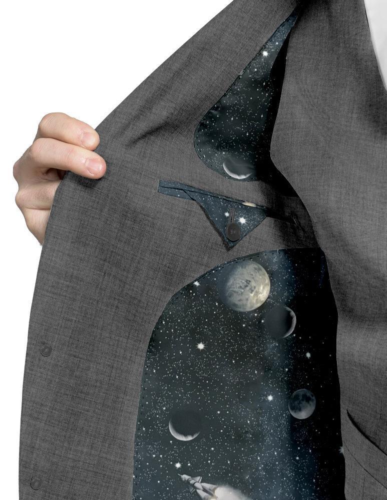 Jacket Plain Grey - Georges