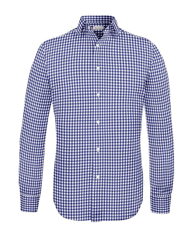 Sport shirt Blue Gingham - Alice