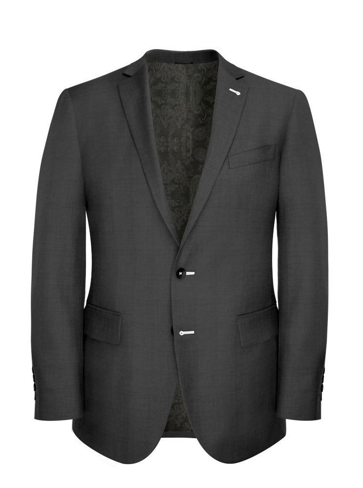 Suit Mid Grey Serge - Hunter