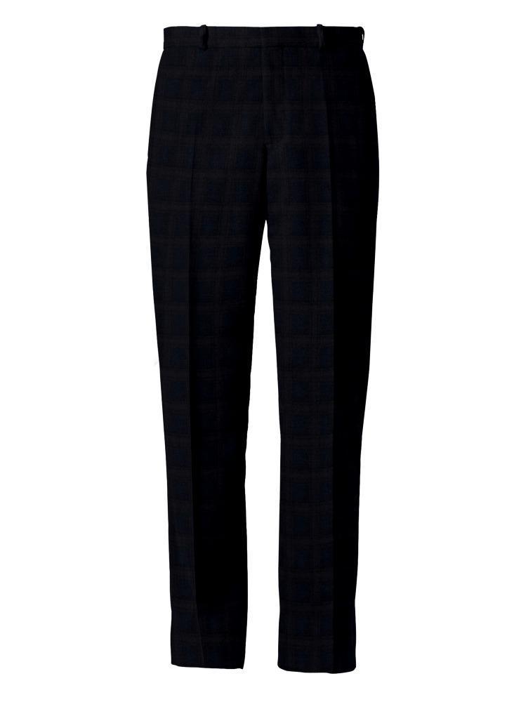 Suit Dark Blue/Purple Windowpane Suit