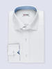 Dress shirt White w/ contrast - Gisele