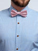Dress shirt Light blue Gingham - Inspiro