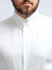 Dress shirt White w/ Collar tab - Simone