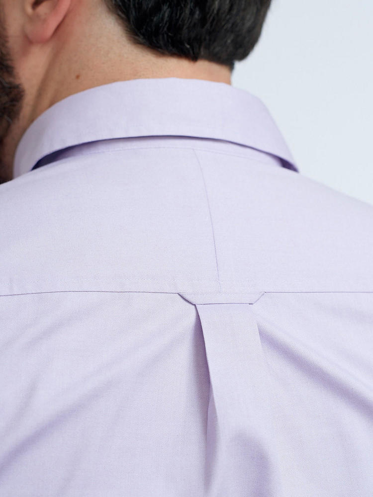Dress shirt Lilac Dress Shirt With Contrast
