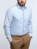 Dress shirt Horizontal blue stripe - Gisele