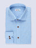 Sport shirt Light blue Gingham - Inspiro