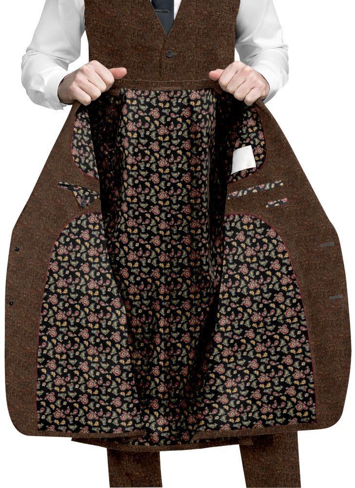 Jacket Brown Donegal Tweed - Stuart +