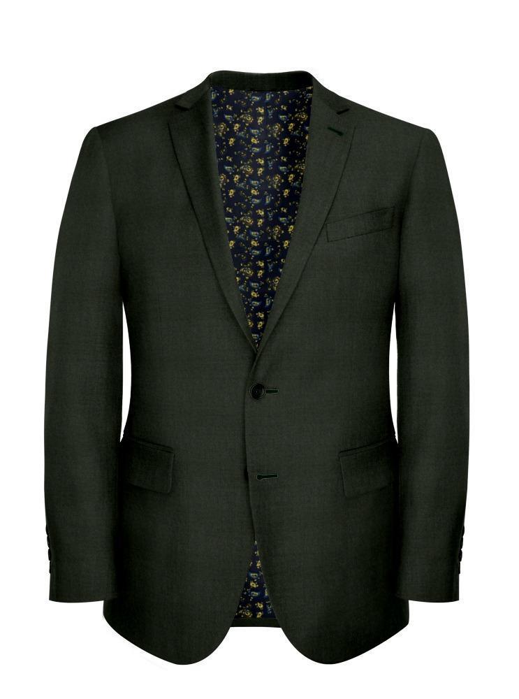 Suit Dark Green - Black Ice Flannel