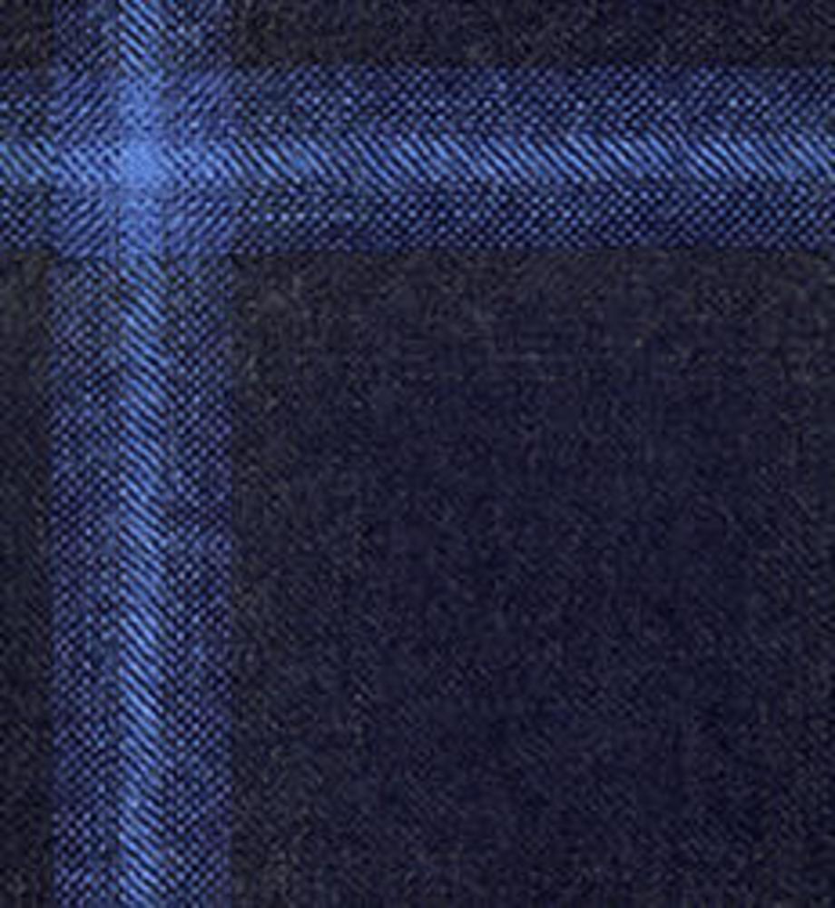 Jacket Electric Blue Windowpane - Wilfred +
