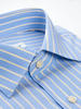Dress shirt Blue/Yellow Stripe - Inspiro