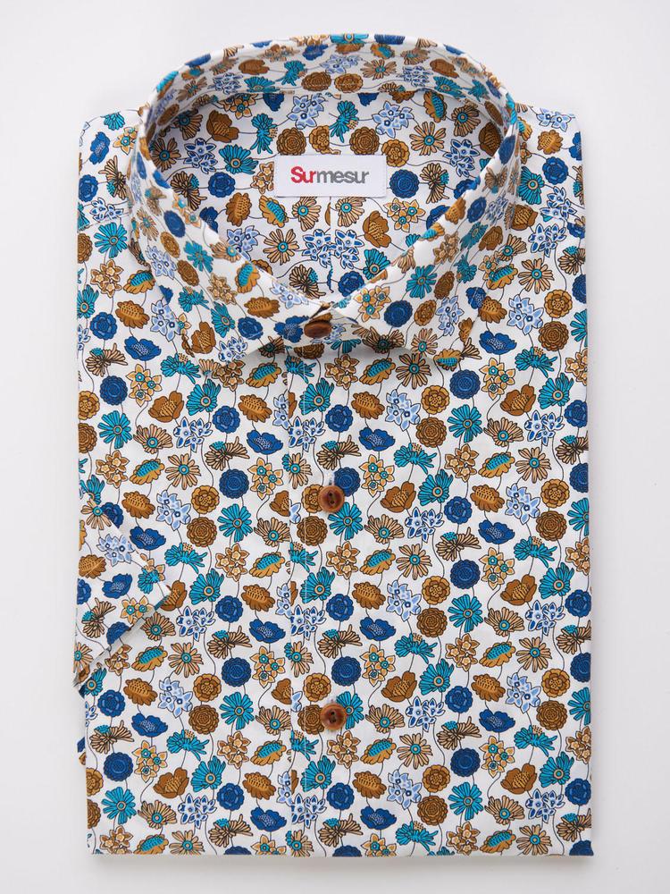 Sport shirt Summer Print w/ Short Sleeves - Walker