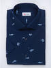 Sport shirt Swordfish Print w/ Short Sleeves - Walker