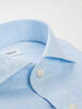Dress shirt Light Blue Linen - Scarlett