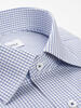 Dress shirt Small Blue Checks  Dress Shirt