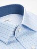 Sport shirt Light Blue Print w/ Contrast - Walker