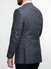 Jacket Dark Grey Wool-Linen Blend - Oscar +