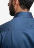 Chemise sport Chemise soyeuse bleue à pois fins